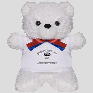 Property of an Acupuncturist Teddy Bear