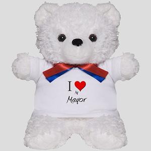 I Love My Mayor Teddy Bear