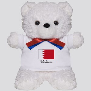 Bahrain Flag Teddy Bear