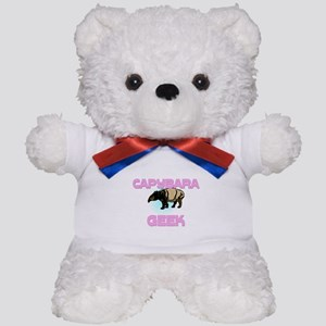 Capybara Geek Teddy Bear