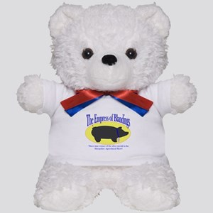 Empress of Blandings Wodehouse tribute Teddy Bear