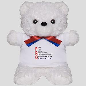 Pro America Teddy Bear