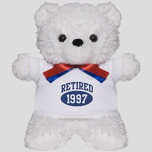 Retired 1997 (blue) Teddy Bear