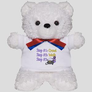 Step 1... Step 2... Teddy Bear