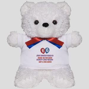 66 year old designs Teddy Bear