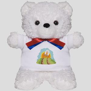 Covered Wagon Teddy Bear