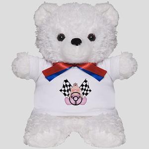 Lil Race Winner Baby Girl Teddy Bear