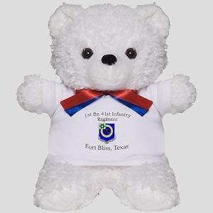 1st Bn 41st Inf Teddy Bear