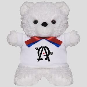 Alpha And Omega Combined Teddy Bear