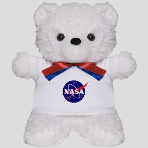 NASA Meatball Logo Teddy Bear
