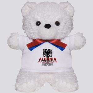 3D Albania Teddy Bear