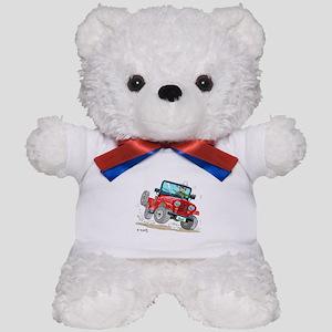 Willys-Kaiser CJ5 jeep Teddy Bear