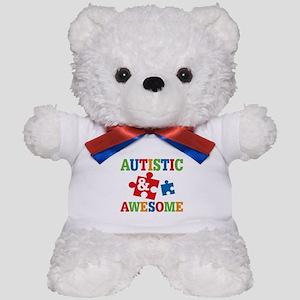 Autistic Awesome Teddy Bear