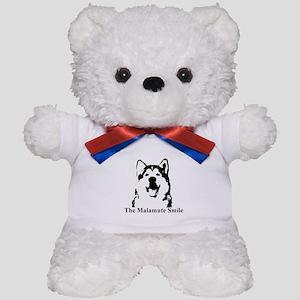 The Malamute Smile Teddy Bear