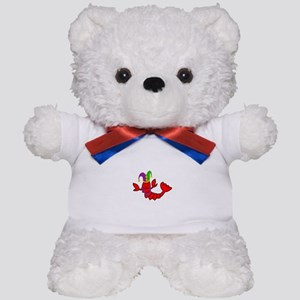 MARDI GRAS CRAWFISH Teddy Bear