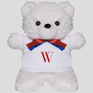 W-bod red2 Teddy Bear