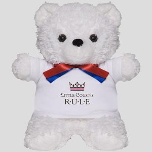 Little Cousins Rule Teddy Bear