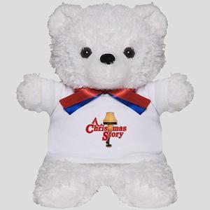 A Christmas Story Movie Lamp Teddy Bear