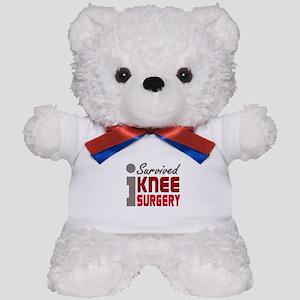 I Survived Knee Surgery Teddy Bear