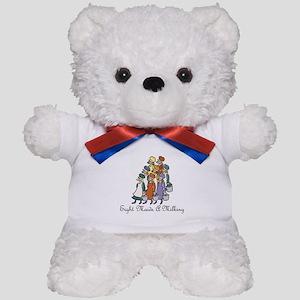 Eighth Day of Christmas Teddy Bear