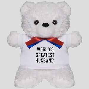 Worlds Greatest Husband Teddy Bear