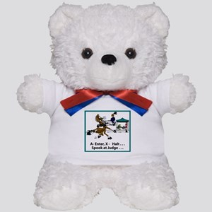 Spook at X Dressage Horse Teddy Bear