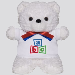 ABC Blocks Teddy Bear