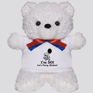 50th Birthday Party Teddy Bear