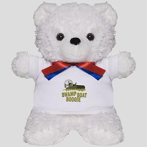Swamp Boat Boogie Teddy Bear