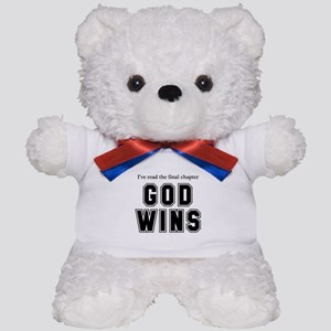 God Wins Teddy Bear