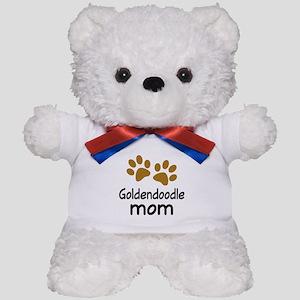 Cute Goldendoodle Mom Teddy Bear