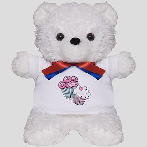 Sweet Cupcakes Teddy Bear