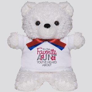 Favorite Aunt Teddy Bear