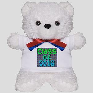 Class of 2016 - on bright swirls Teddy Bear