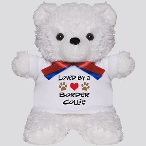 Loved By A Border Collie Teddy Bear