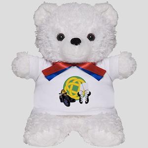 Celtic Knot Irish Shoes Teddy Bear