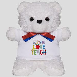 Live Love Teach Teddy Bear