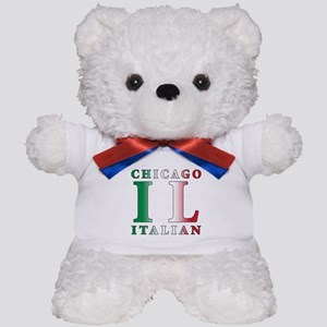 Chicago Italian Teddy Bear