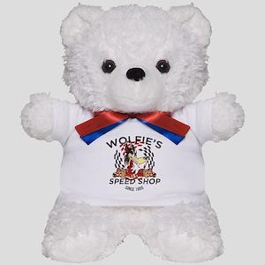 Wolfie's Speed Shop Teddy Bear