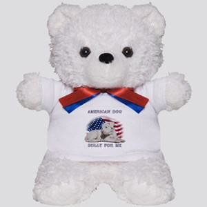 Bully for Me, American Dog Teddy Bear
