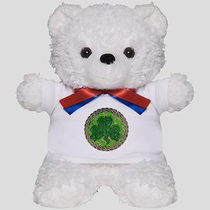 Shamrock And Celtic Knots Teddy Bear