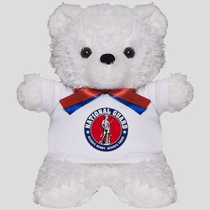 National Guard Logo Teddy Bear