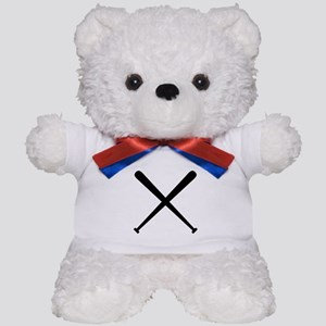 Baseball Bats Teddy Bear