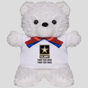 CUSTOM TEXT U.S. Army Teddy Bear