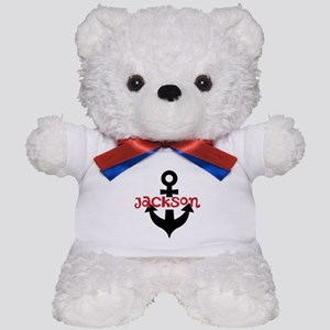 Personalized Cruise Anchor Teddy Bear