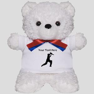 Cricket Player Teddy Bear