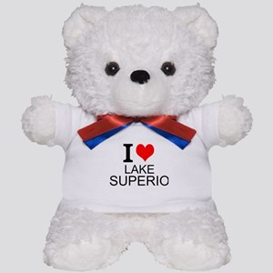 I Love Lake Superior Teddy Bear