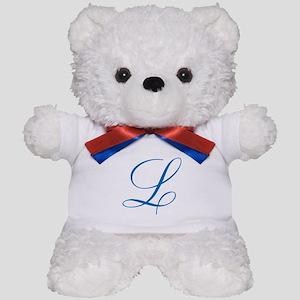 Personalized Monogram Initial Teddy Bear
