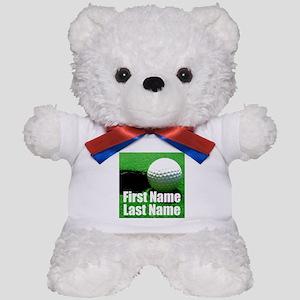 Golfball Teddy Bear