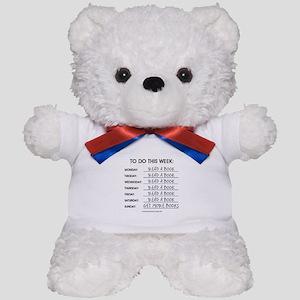 READ A BOOK Teddy Bear